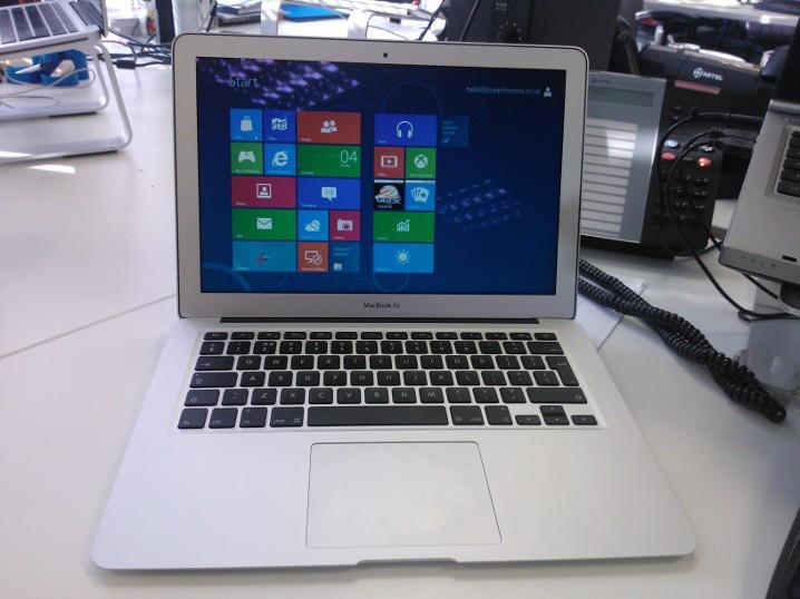 Résoudre le problème de WiFi de Windows 8 sur Mac (Bootcamp)