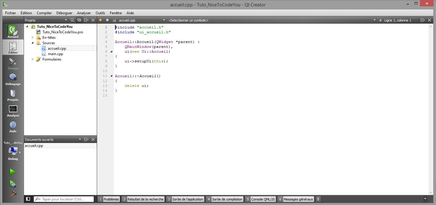 Installation et configuration de Qt Creator sous Windows