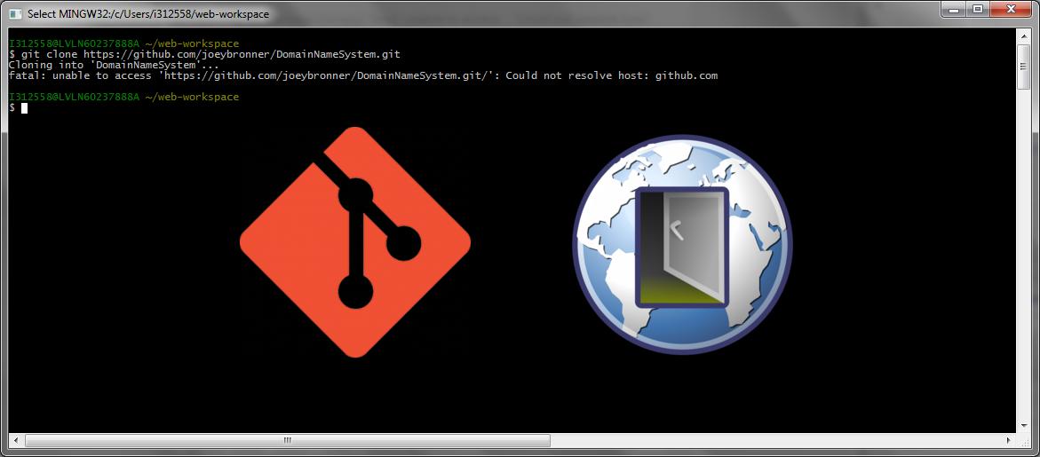 Ajouter la configuration de votre proxy sur votre terminal Git
