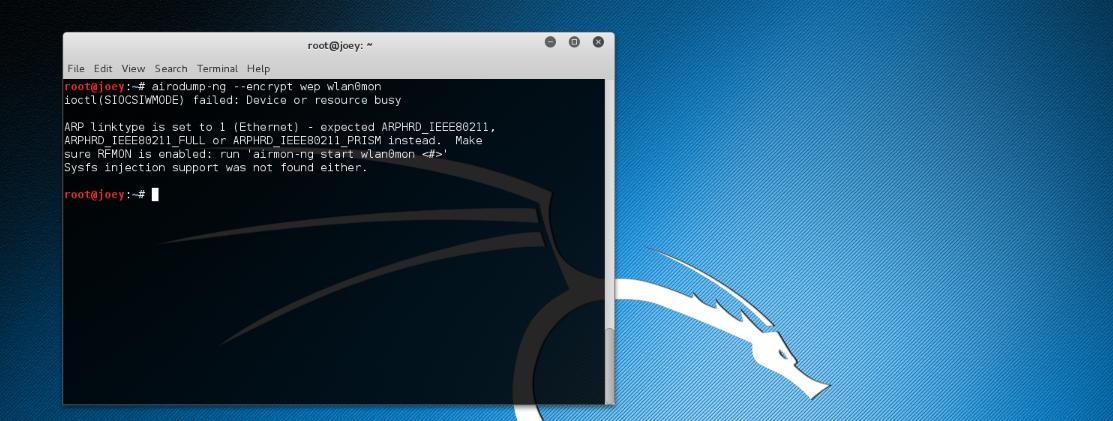 Fixer un problème de ressource occupée sur Kali-Linux